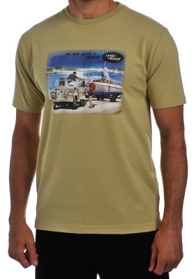 Мужская футболка Land Rover Men's T-shirt Lifestyle