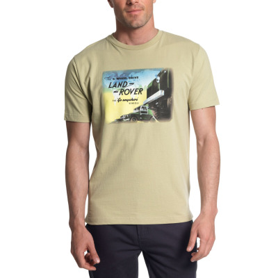 Мужская футболка Land Rover Men's T-shirt All Wheel Drive