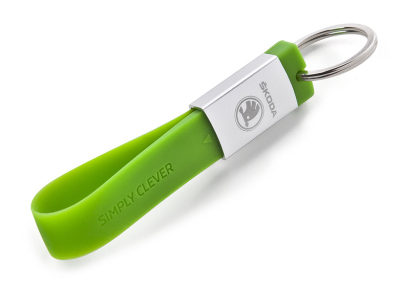 Флешка-брелок Skoda Silicone keyring 8GB USB Flash Drive