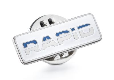 Металлический значок Skoda Rapid Pin