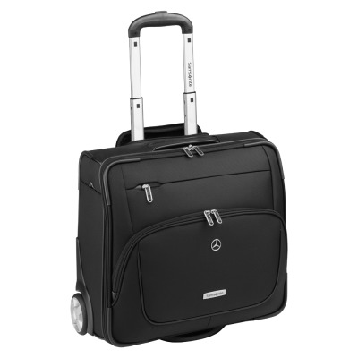 Чемодан для ручной клади Mercedes-Benz X-Pression Wheeled Travel Case Black