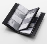 Визитница Mercedes-Benz AMG Business Card Holder Carbon Black, артикул B66959922
