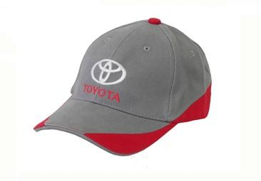 Бейсболка Toyota Baseball Cap, Grey-Red