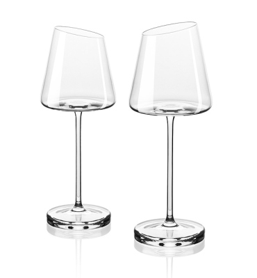 Набор хрустальных бокалов для белого вина Skoda Wine Glasses for White Wine