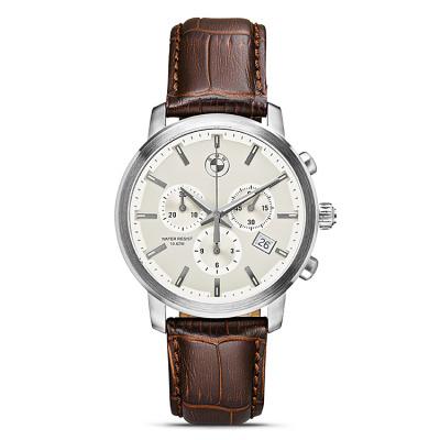 edde8a2e Мужские наручные часы BMW Men's Chrono Watch Brown Strap 2015