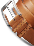 Ремень Mercedes-Benz AMG Leather Belt, артикул B66959972