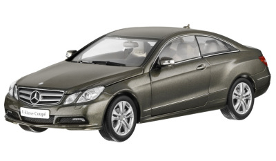 Модель Mercedes-Benz E Class Coupé, Stannite Grey, Scale 1:18