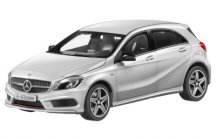 Модель Mercedes-Benz A-Class Sport, Polar silver, Scale 1:18