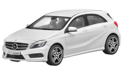 Модель Mercedes-Benz A-Class AMG 2012, White, Scale 1:18