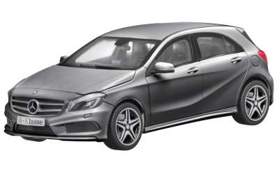 Модель Mercedes-Benz A-Class AMG 2012, Mountain Grey, Scale 1:18