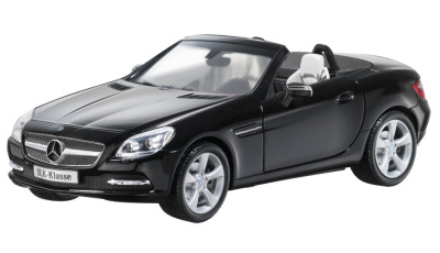 Модель Mercedes-Benz SLK-Klasse, scale 1:18, Black