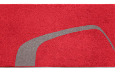 Банное полотенце Audi Bat towel, red, 2013