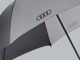 Зонт-трость Audi Golf umbrella, grey, 2013, артикул 3121200100