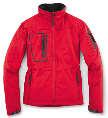 Женская куртка Audi Women's Softshell Jacket, Red