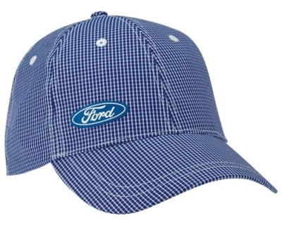 Бейсболка Ford Oval Cap Squares White And Blue