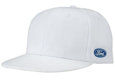 Бейсболка Ford New Age White Cap Blue Oval