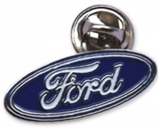 Значок Ford Oval Pin Blue