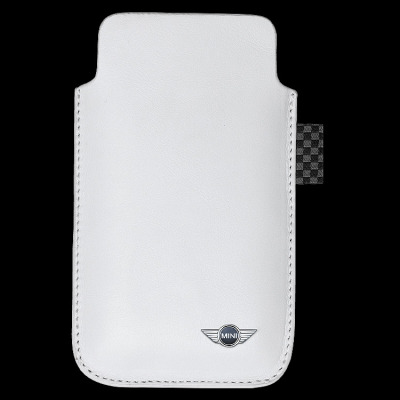 Чехол для iPhone Mini Leather Sleeve White, without tape closure