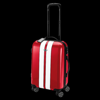 Чемодан Mini Rooftop Cabin Trolley Chilli Red with white racing stripes