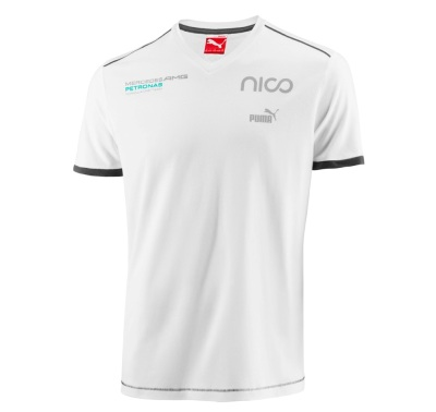 Мужская футболка Mercedes Men's Rosberg T-Shirt, Motorsport