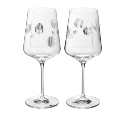 Набор бокалов Mercedes-Benz Set Of Spritz Glasses Platinum