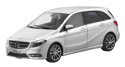 Модель Mercedes-Benz B-Class Sports Tourer, Silver, Scale: 1:18