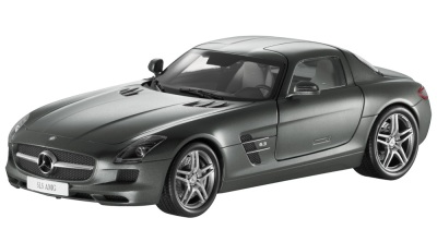 Модель Mercedes-Benz SLS AMG, Grey, Scale 1:18