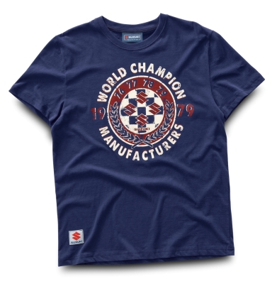Мужская футболка Suzuki World Champion T-Shirt, retro design