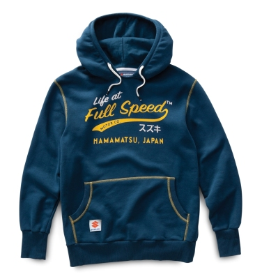 Мужская толстовка Suzuki Men's Life at Full Speed Hoodie, Navy