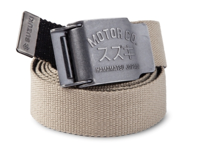Ремень Suzuki Motor Co Fabric Belt, Beige