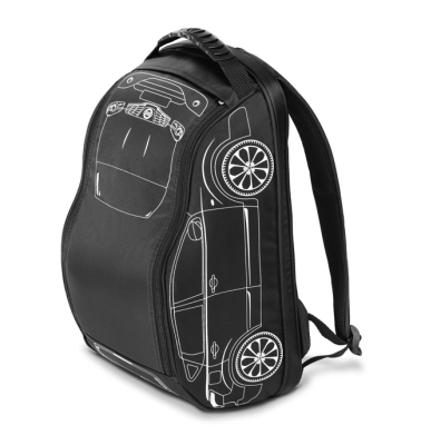 Рюкзак Nissan Qashqai Backpack, Black
