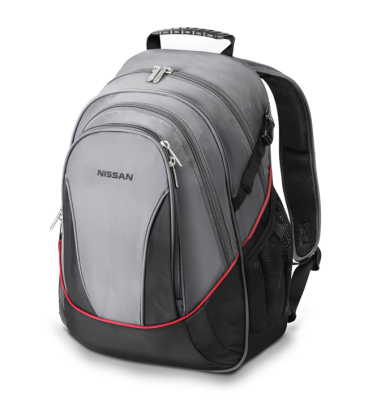 Рюкзак Nissan Large Backpack, Grey-Black