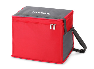Сумка термос Nissan Thermo Bag, Grey-Red