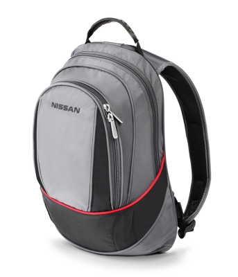 Рюкзак Nissan Compact Backpack, Grey-Black