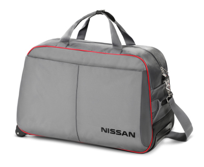 Сумка дорожная на колесиках Nissan Travel Wheeled Bag, Grey