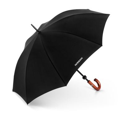 Зонт-трость Nissan Stick Umbrella, Black, Huntsman