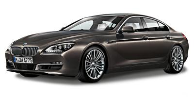 Модель автомобиля BMW 6er Gran Coupé (F06), Black Sapphire, Scale 1:18