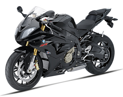 Модель мотоцикла BMW S 1000 RR (K46) Motorbike Toy Model Black, Scale 1:10