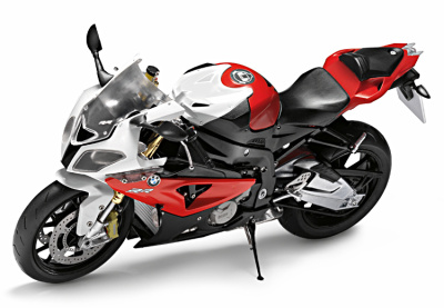 Модель мотоцикла BMW S 1000 RR (K46) Motorbike Toy Model Red, Scale 1:10