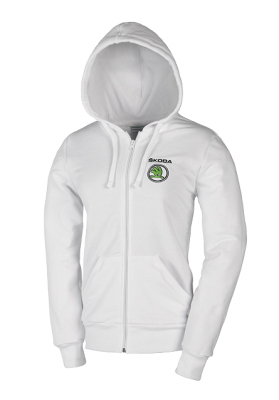 Женский свитер Skoda Women's white sweatshirt