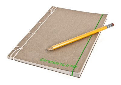Блокнот Skoda Greenline Notebook