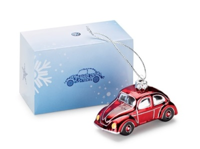 Ёлочная игрушка Volkswagen Beetle Christmas Toy