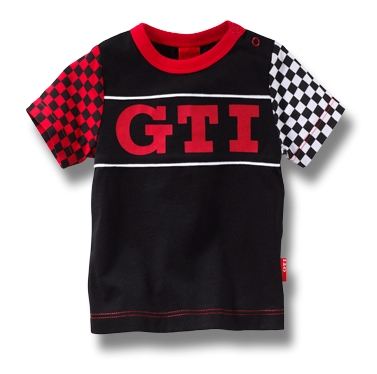 Детская футболка Volkswagen Kid's T-Shirt GTI, Black