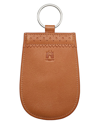 Кожаная ключница Volkswagen Classic Leather Key Pouch, Beige