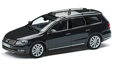 Модель автомобиля Volkswagen Passat Estate, Scale 1:43, Grey
