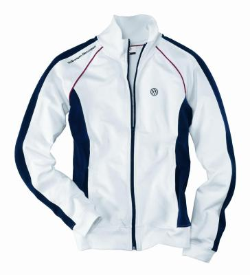 Женская толстовка Volkswagen Ladies Sweater Motorsport, White Blue