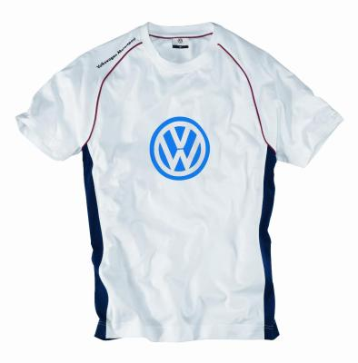 Мужская футболка Volkswagen Men's Fan's T-Shirt Motorsport, White