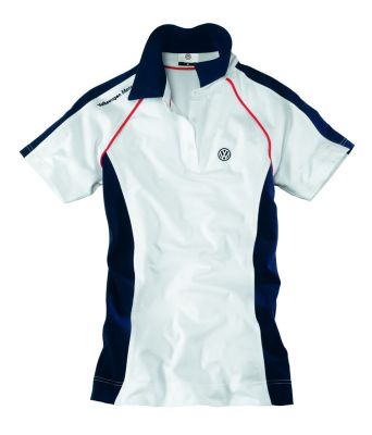 Женская рубашка поло Volkswagen ladies Polo Shirt Motorsport, White