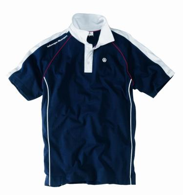 Мужская рубашка поло Volkswagen Men's Polo Shirt Motorsport, Blue