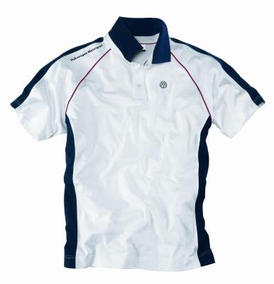 Мужская рубашка поло Volkswagen Men's Polo Shirt Motorsport, White